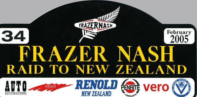 Frazer Nash Raid Bumper Plate